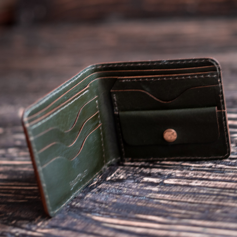 Boston Wallet (Olive)