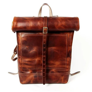 Legacy Roll Top Backpack  (Tobacco Tan)