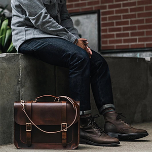 Brooklyn Satchel (Tobacco Tan)