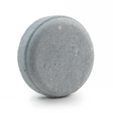 Vitality shampoo bar scented with peppermint, rosemary and lavender essential oils for oily hair naturally coloured blue with indigo powder