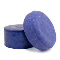 Blonde Bombshell purple toning shampoo bar and conditioner bar for processed blonde hair