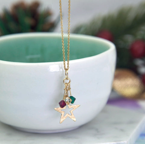 Christmas Star Necklace