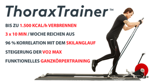 Thorax Trainer Skiergometer Pro Cardio - Neue Version