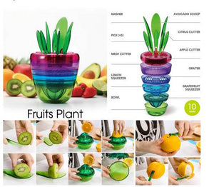 Multifunction Fruit Plant 10 in 1 Kitchen Tool