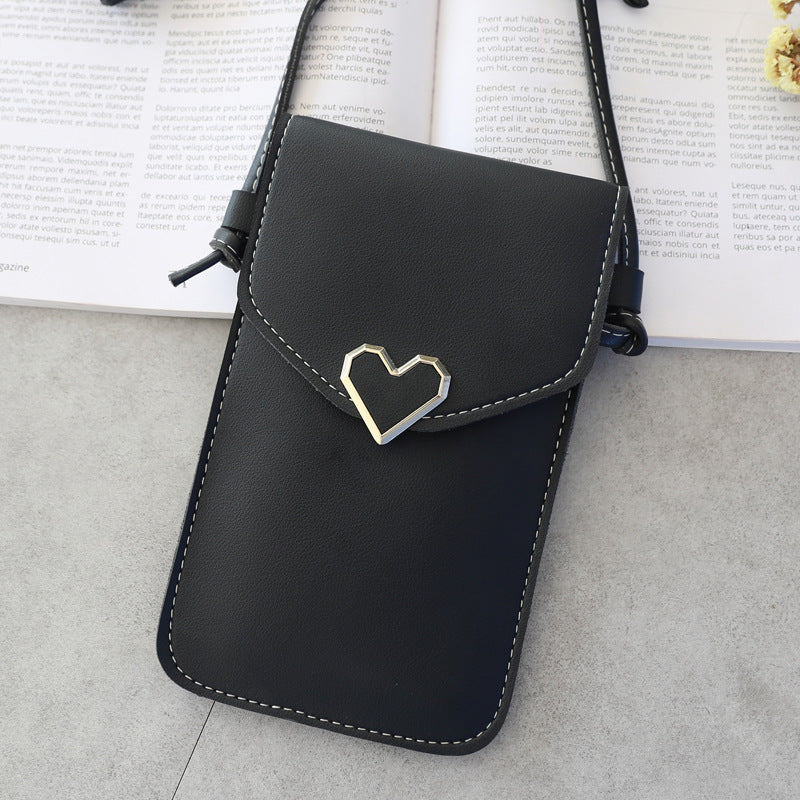Mobile Phone Case Bag Fashion Women Bags PU Leather Cell Phone Cover Girls Shoulder Bag for iPhone Samsung Huawei Xiaomi Honor
