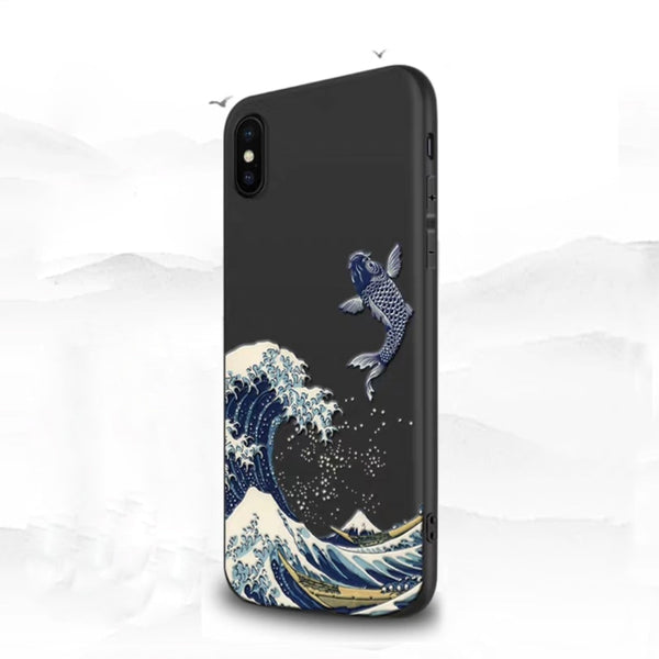 Wave 3D Phone Case For Coque iphone 11 Pro Max 7 8 6s 6 s Plus Case Cover For Funda iphone SE 2020 X XR XS Max 5 s 5s se Cases