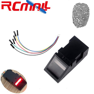 [variant_title] - RCmall Optical Fingerprint Reader Sensor Module for Arduino Mega2560 UNO R3 51 AVR STM32 Red Light O40 DC 3.8-7V FZ2904