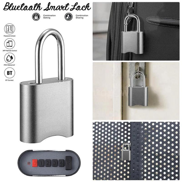 [variant_title] - Bluetooth Smart Lock with Phone APP Password/BT Connection Unlock for Home Security