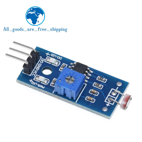 [variant_title] - TZT Photosensitive brightness resistance sensor module Light intensity detect New For Arduino