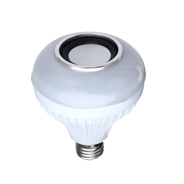 [variant_title] - E27 LED RGBW Wireless bluetooth Speaker Bulb Light Music Play + Remote Smart LED Bulbs AC85-260V