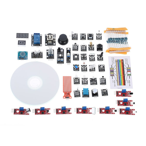 [variant_title] - 37 in 1 Box Sensor Module Kit for Arduino UNO Sensor Module for Arduino Starter DIY Kit Digital Temperature Sensor Module