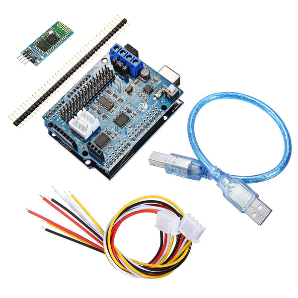 [variant_title] - WiFi bluetooth Handle DIY Remote Control Smart Car Module Kit For Arduino Motor Servo Drive Arm