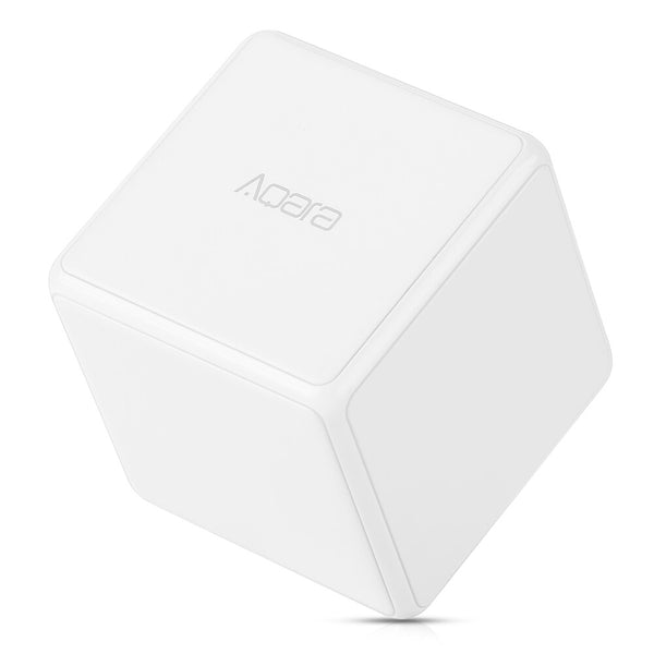[variant_title] - Xiaomi AQara Magic Cube Controller Smart Home 6 Actions Mini Device Zigbee Version Wireless Connection Work With Mijia Home App