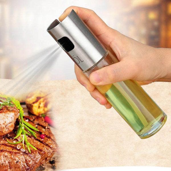[variant_title] - Stainless Steel Oil Sprayer kitchen accessories Olive Pump Spray Bottle Oil Sprayer Pot Cooking Tool Sets kitchen gadgets Tool15