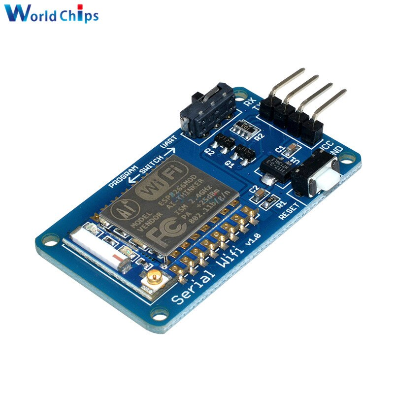 Default Title - ESP8266 ESP-07 ESP07 Wifi Serial Transceiver Wireless Board Module 3.3V 5V 8N1 TTL UART Port Controller For Arduino UNO R3 One