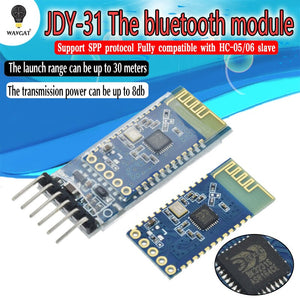 [variant_title] - JDY-30 = JDY-31 SPP-C Bluetooth serial pass-through module wireless serial communication from machine Replace HC-05 HC-06