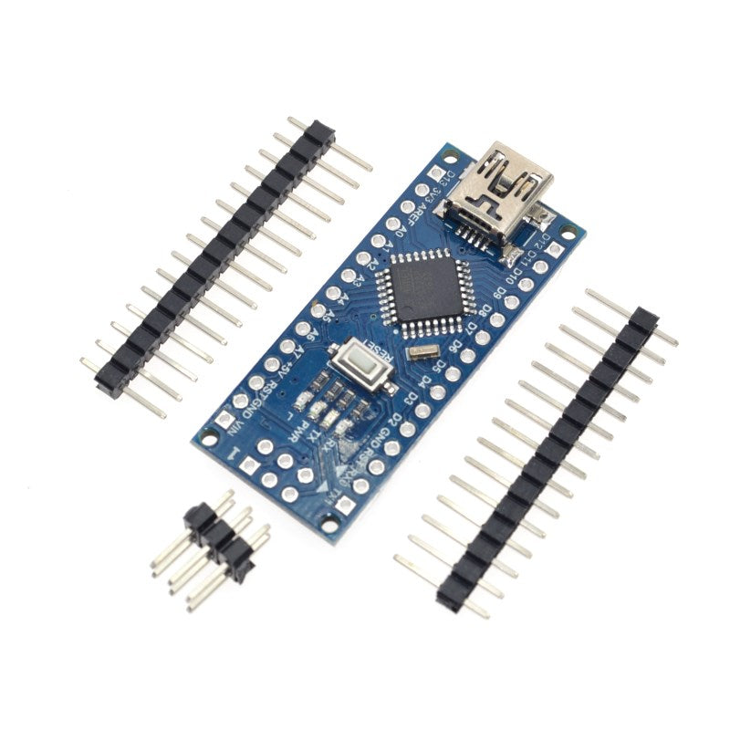 Default Title - 10PCS Promotion Funduino Nano 3.0 Atmega328 Controller Compatible Board for Arduino Module PCB Development Board without USB