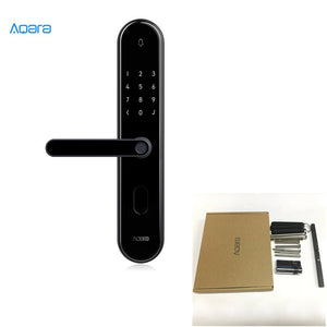 S2 for 40-54mm - 2018 Xiaomi Mijia Aqara S2 Smart Fingerprint Door Lock Digital Touch Screen Keyless Lock Smart Home App Control With Screw Kit