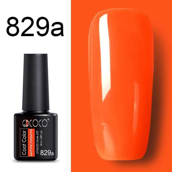 829a - #86102 GDCOCO 2019 New Arrival Primer Gel Varnish Soak Off UV LED Gel Nail Polish Base Coat No Wipe Top Color Gel Polish