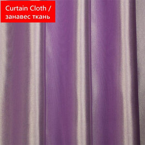 Color 2 Cloth / 1 PCS W100 X H270cm / 4 Prongs Hook - Luxury Modern Leaves Designer Curtain Tulle Window Sheer Curtain For Living Room Bedroom Kitchen Window Screening Panel P347Z30