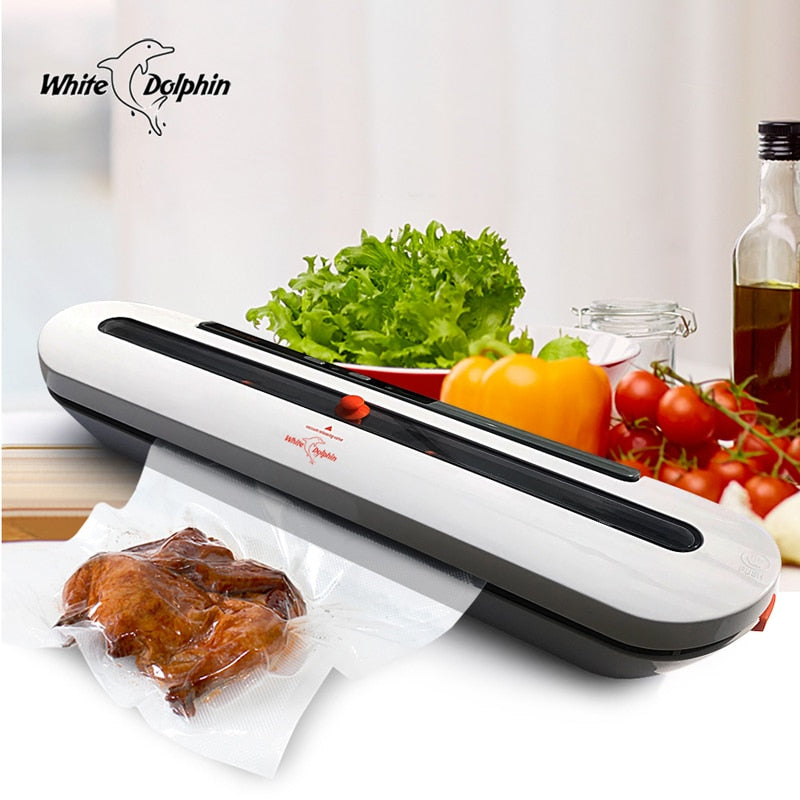 [variant_title] - Household Food Vacuum Sealer Packaging Machine With 10pcs Bags Free 220V 110V Automatic Commercial Best Vacuum Food Sealer Mini