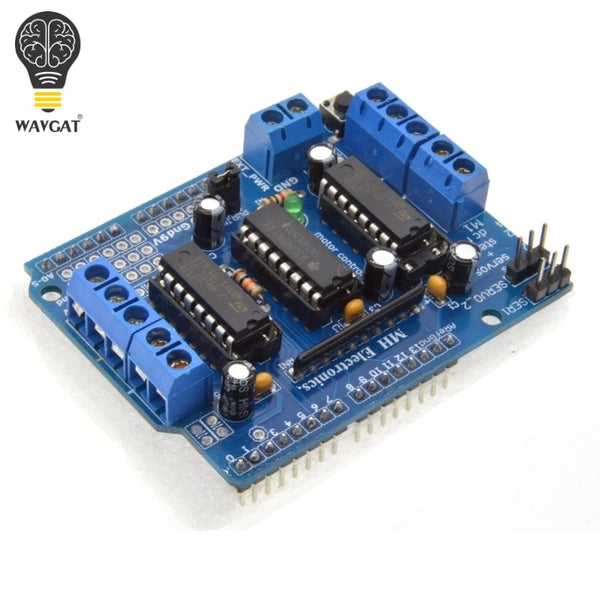 [variant_title] - Freeshipping  L293D motor control shield motor drive expansion board FOR Arduino motor shield