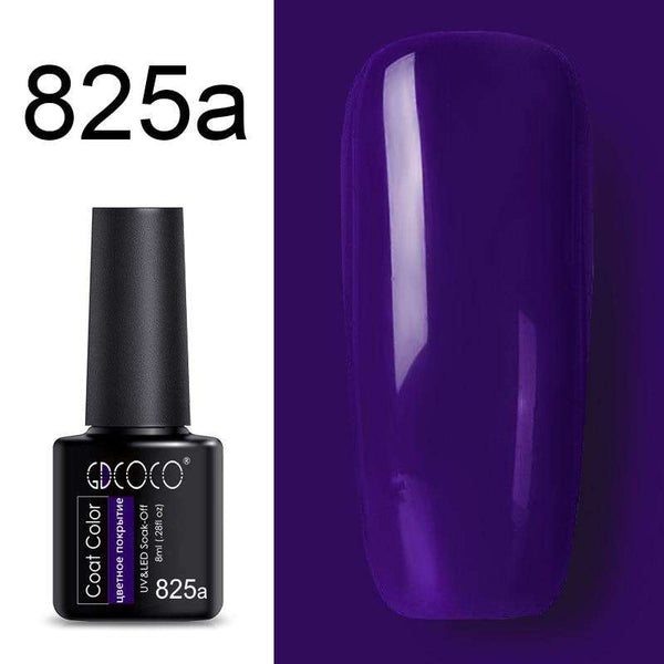 825a - #86102 GDCOCO 2019 New Arrival Primer Gel Varnish Soak Off UV LED Gel Nail Polish Base Coat No Wipe Top Color Gel Polish