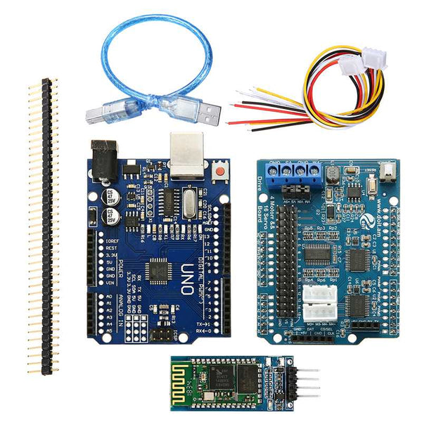 Bluetooth Type - WiFi bluetooth Handle DIY Remote Control Smart Car Module Kit For Arduino Motor Servo Drive Arm