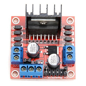 [variant_title] - L298N Dual H Bridge DC Stepper Motor Drive Controller Board Module for Arduino Red