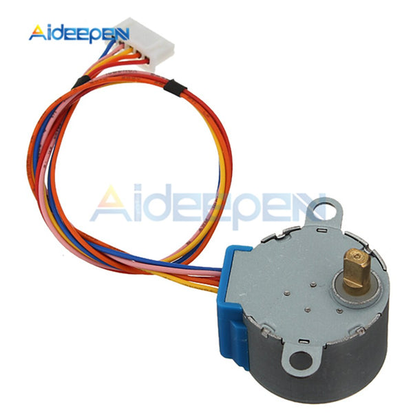 [variant_title] - 28BYJ-48 Reduction Step Gear Stepper Motor DC 5V 4 Phase 28byj 28byj48 for Arduino