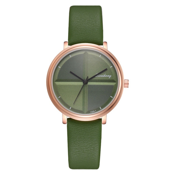Green - Exquisite Simple Style Women Watches Small Fashion Quartz Ladies Watch Drop shipping Top Brand Elegant Girl Bracelet Watch