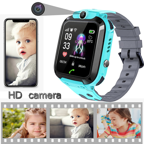 [variant_title] - 2019BANGWEI Smart watch LBS Kid Smart Watches Baby Watch for Children SOS Call Location Finder Locator Tracker Anti Lost Watches