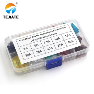 pk of 10 neon indicator car NEW 10A Blow Glow standard Blade Fuses smart glow