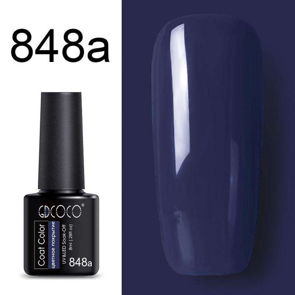 848a - #86102 GDCOCO 2019 New Arrival Primer Gel Varnish Soak Off UV LED Gel Nail Polish Base Coat No Wipe Top Color Gel Polish