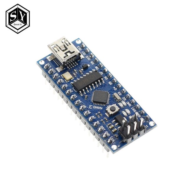 328p-mu welding - Nano 1PCS Mini USB With the bootloader Nano 3.0 controller compatible for arduino CH340 USB driver 16Mhz NANO V3.0 Atmega328