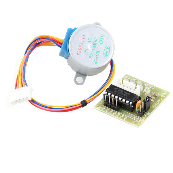 [variant_title] - DIY 28BYJ-48 5V 4 Phase DC Stepper Step Motor + ULN2003 Driver Board for Arduino #Aug.26