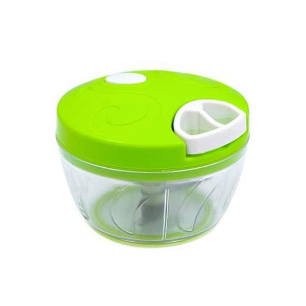 Green - Mini Hand Manual Meat Grinder Mini Chopper Design Pull the Rope Garlic Cutter Vegetable Fruit Twist Shredder Kitchen Tools