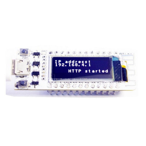 Default Title - ESP8266 WIFI Chip 0.91 inch OLED CP2014 32Mb Flash ESP 8266 Module Internet of things Board PCB for NodeMcu for Arduino IOT