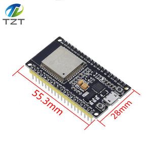 ESP-32S board yellow - ESP-32S ESP32 Development Board WiFi Wireless Bluetooth Antenna Module For Arduino 2.4GHz Dual Core ESP32S ESP-32 ESP8266