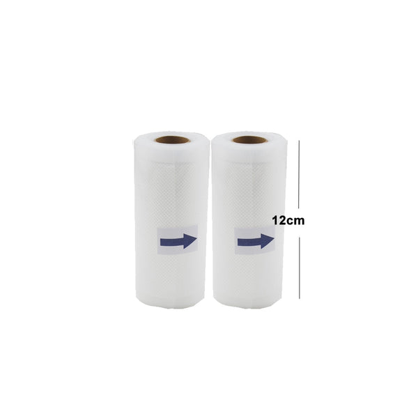 12cm2pcs - 5 Rolls/Lot Kitchen Food Vacuum Bag Storage Bags For Vacuum Sealer Vacuum Packaging Rolls 12/15/20/25/28cm*500cm