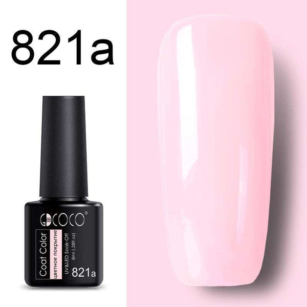 821a - #86102 GDCOCO 2019 New Arrival Primer Gel Varnish Soak Off UV LED Gel Nail Polish Base Coat No Wipe Top Color Gel Polish