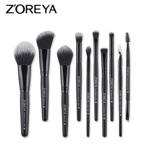 10pcs brush set - ZOREYA Makeup Brushes 4/8/10/11/12/15pcs Professional Makeup Brush Set Many Different Model As Essential Cosmetics Tool
