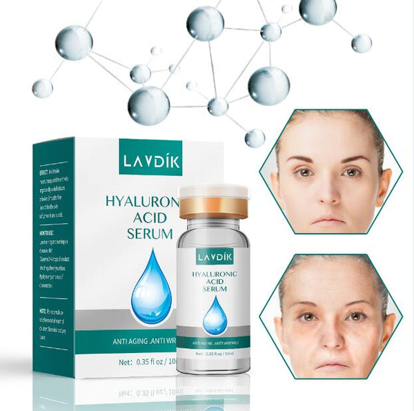Hyaluronic acid - Face Essence Snail Hyaluronic Acid Green Tea Skin Care Moisturizing Whitening Anti-Aging Advanced Face Serum Cosmetic 15ml