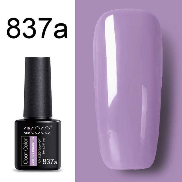 837a - #86102 GDCOCO 2019 New Arrival Primer Gel Varnish Soak Off UV LED Gel Nail Polish Base Coat No Wipe Top Color Gel Polish