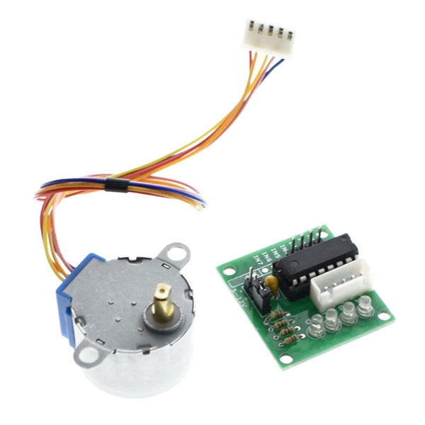 [variant_title] - Hot Smart Electronics 28BYJ-48 5V 4 Phase DC Gear Stepper Motor + ULN2003 Driver Board for Arduino DIY Kit
