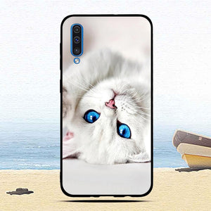 For Samsung Galaxy A50 Case Cartoon Animal Fashion Protective cover Luxury TPU Slicone cases mobile phone shells fundas coque