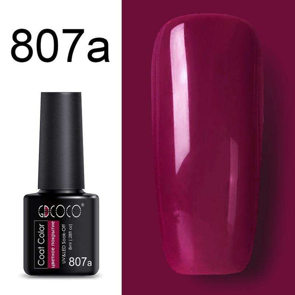 807a - #86102 GDCOCO 2019 New Arrival Primer Gel Varnish Soak Off UV LED Gel Nail Polish Base Coat No Wipe Top Color Gel Polish