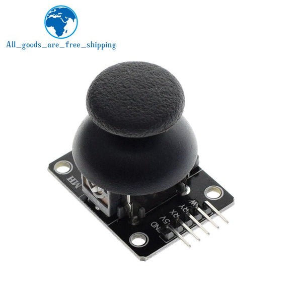 XY Joystick Module - For Arduino  Dual-axis XY Joystick Module Higher Quality  PS2 Joystick Control Lever Sensor KY-023 Rated 4.9 /5