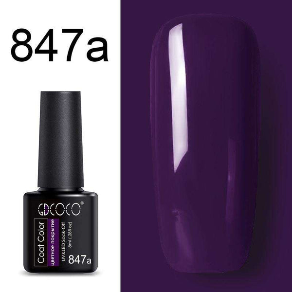 847a - #86102 GDCOCO 2019 New Arrival Primer Gel Varnish Soak Off UV LED Gel Nail Polish Base Coat No Wipe Top Color Gel Polish