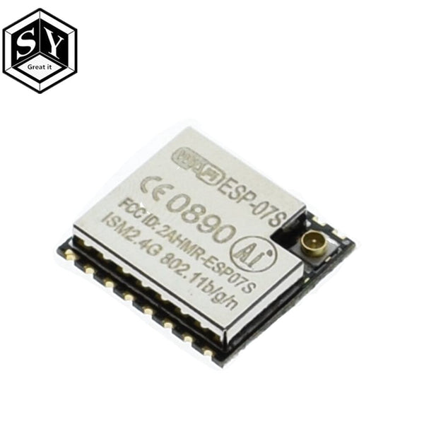 esp-07s - GREAT IT  ESP8266 ESP-01 ESP-01S ESP-07 ESP-12 ESP-12E ESP-12F  ESP-07SWIFI wireless module wireless transceiver For arduino